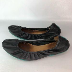 Tieks  Black Matte Flat Size 10